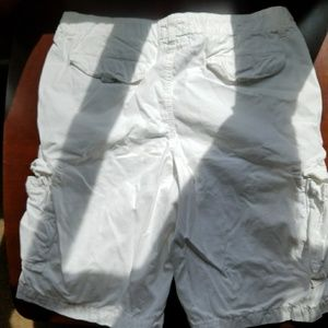 urban pipeline Shorts - White cargo shorts